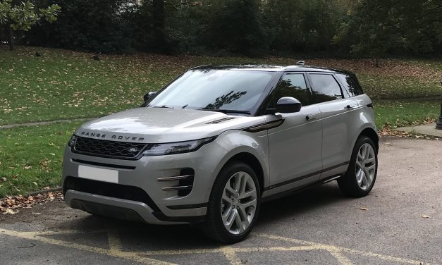 Cheap Range Rover Evoque P250 Hire in London