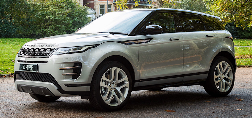 Range Rover Evoque R-Dynamic Hire