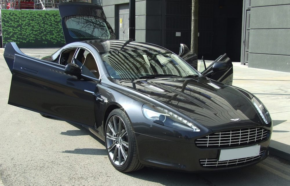 NEW ARRIVAL: Aston Martin Rapide (4 Door / 4 Seats) HIRE