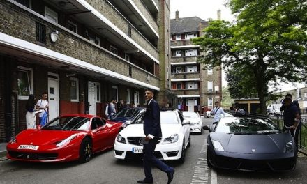No expense spared! Lamborghinis, Ferraris and Bentleys are hired by TEENAGERS in London…