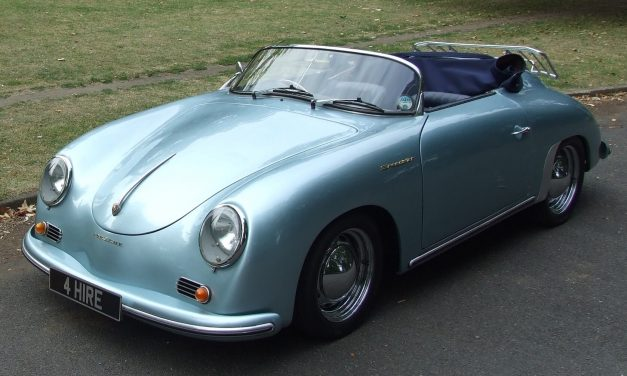 Porsche Speedster Hire – Wedding Car Hire