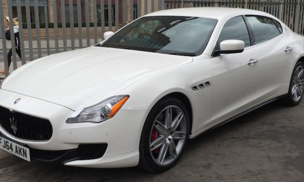 NEW 4 DOOR CAR: Maserati Quattroporte Hire