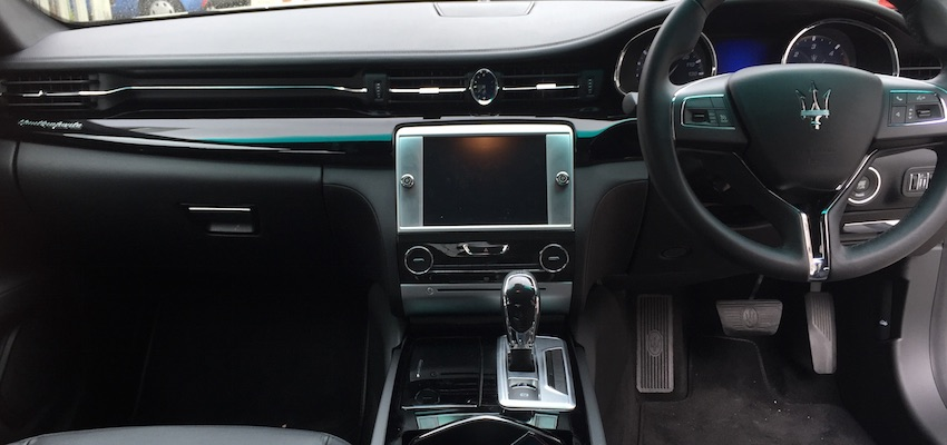 NEW 4 DOOR CAR: Maserati Quattroporte Hire