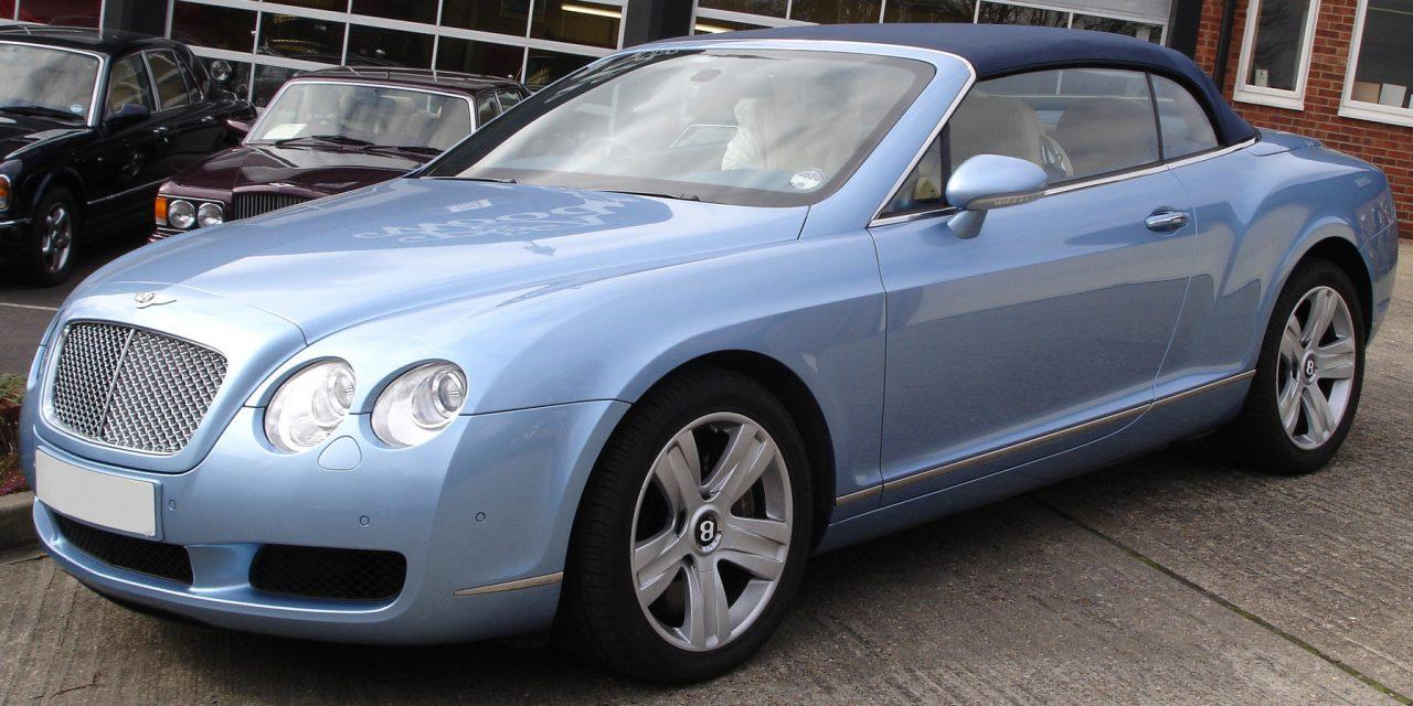 Bentley GT Convertible Hire