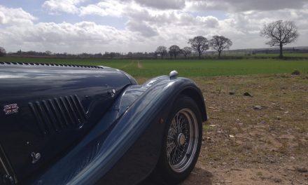 Tour the beautiful English countryside in a beautiful English sports car…Hire a Morgan +8…