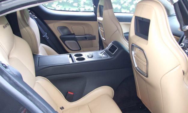 NEW ARRIVAL: Aston Martin Rapide (4 Door / 4 Seats) HIRE