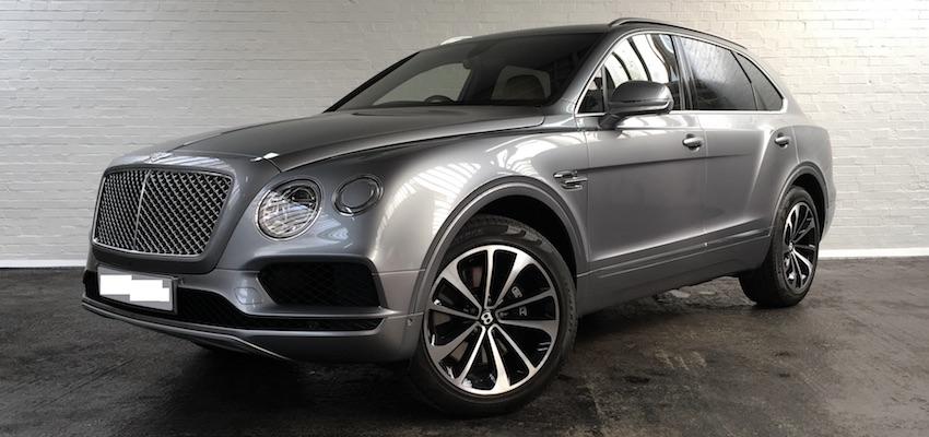 Bentley Bentayga Hire