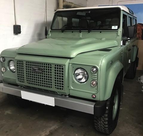 Land Rover Defender 110 Heritage Hire