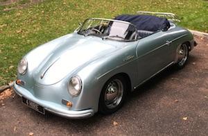 Porsche 356 Speedster Hire