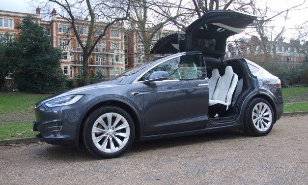 Telsa Electric Car Hire London