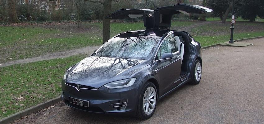 Tesla Model X Hire   Electric Car Hire London