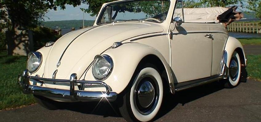 VW Beetle Karmann Cabriolet Hire
